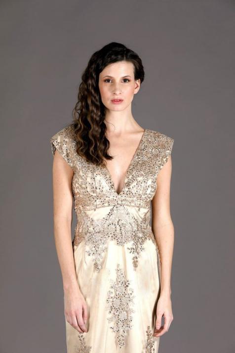 Ariel Gold Lace Princess dress