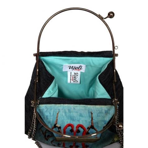 """""""Táncosok"""" vintage stílusú táska"""