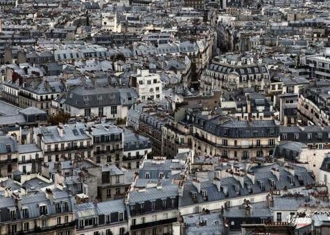 """""""Párizsi tetők"""" táska"""