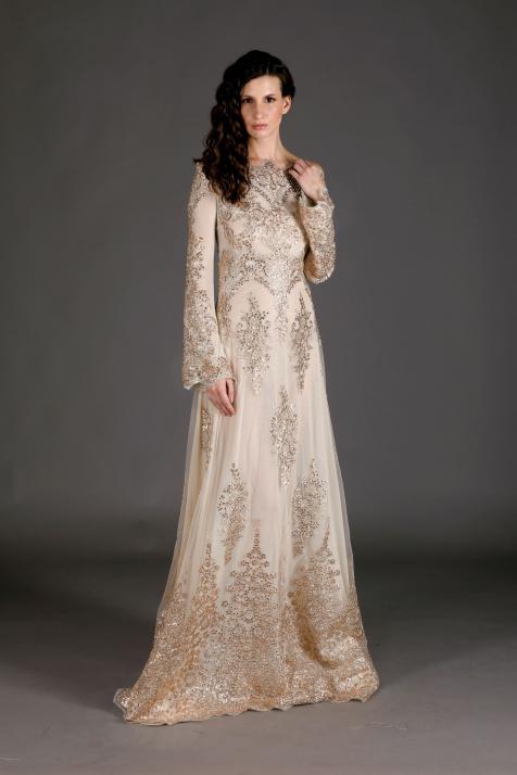 Golden Lace Bálkirálynői, Udvarhölgy Princess Báli/Esküvői ruha
